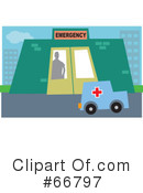 Ambulance Clipart #66797
