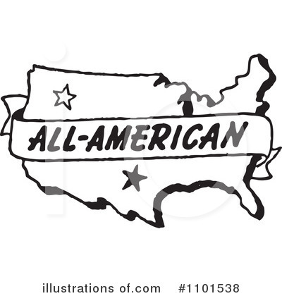 Royalty-Free (RF) American Clipart Illustration by BestVector - Stock Sample #1101538
