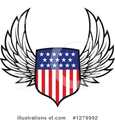 Americana Clipart #1279992 by Vector Tradition SM