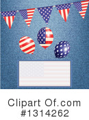 Royalty-Free (RF) American Clipart Illustration #1314262