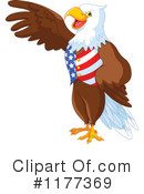 Royalty-Free (RF) American Eagle Clipart Illustration #1177369