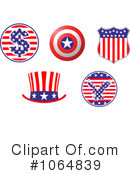 American Elements Clipart #1064839 by Vector Tradition SM