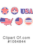 American Elements Clipart #1064844 by Vector Tradition SM