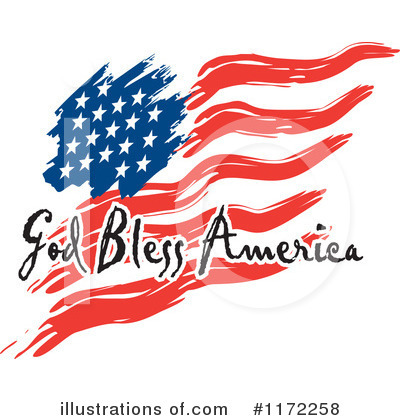 America Clipart #1172258 by Johnny Sajem