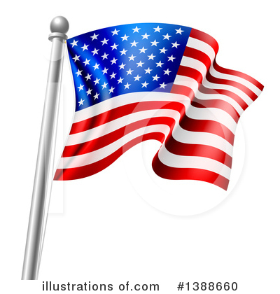 Flags Clipart #1388660 by AtStockIllustration
