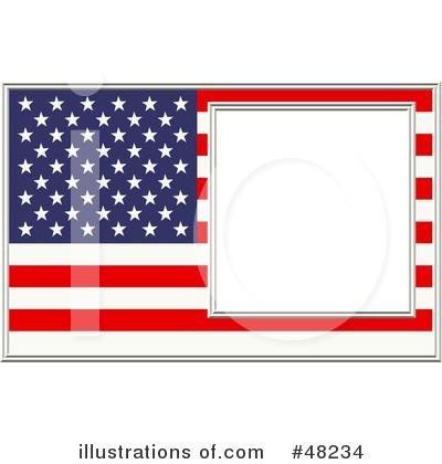 American Flag Border Clip Art