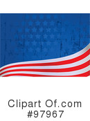 American Flag Clipart #97967 by Pushkin