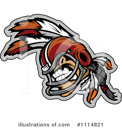 Football Player Clipart #1114821 by Chromaco