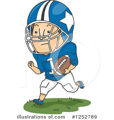 Football Clipart #1252789 by BNP Design Studio