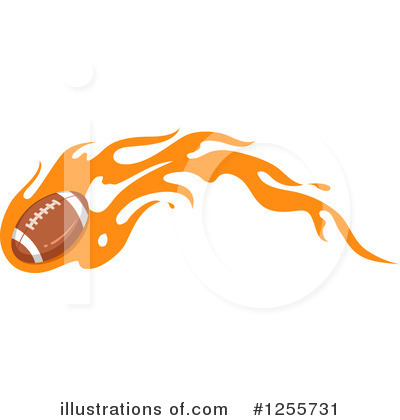 Football Clipart #1255731 by BNP Design Studio