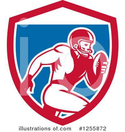 American Football Clipart #1255872 by patrimonio