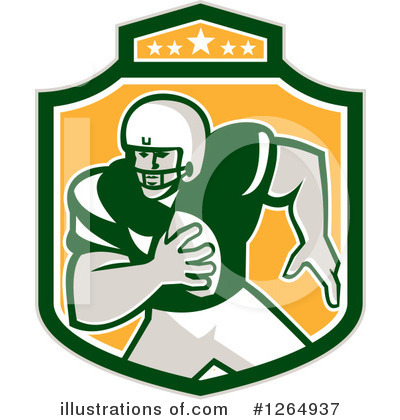 American Football Clipart #1264937 by patrimonio