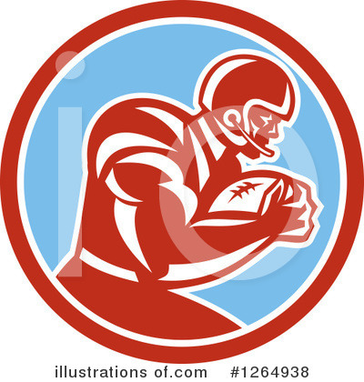 American Football Clipart #1264938 by patrimonio