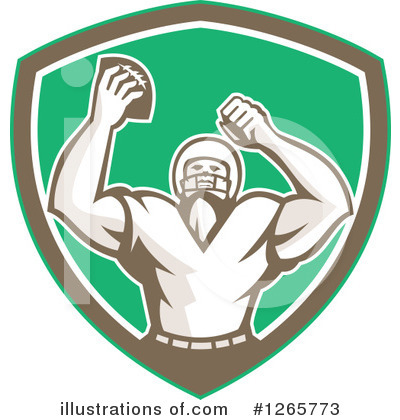 American Football Clipart #1265773 by patrimonio