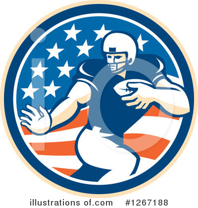 American Football Clipart #1267188 by patrimonio
