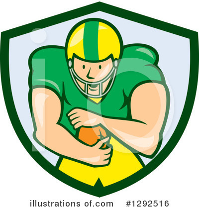 American Football Clipart #1292516 by patrimonio