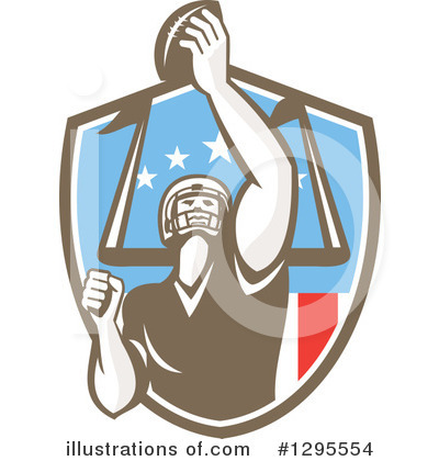 American Football Clipart #1295554 by patrimonio