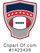 American Football Clipart #1423438 by patrimonio