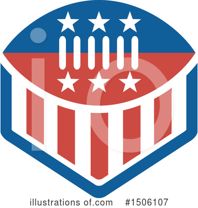 American Football Clipart #1506107 by patrimonio