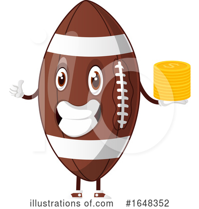American Football Clipart #1648352 by Morphart Creations