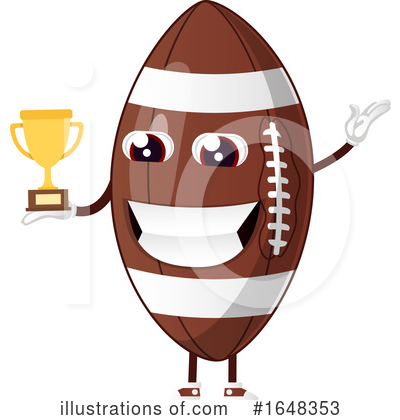 American Football Clipart #1648353 by Morphart Creations