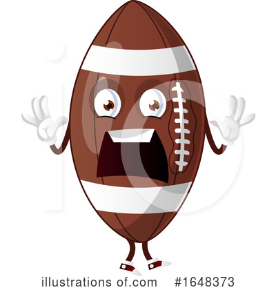 American Football Clipart #1648373 by Morphart Creations