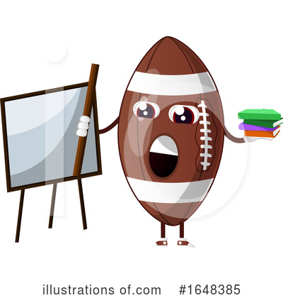 American Football Clipart #1648385 by Morphart Creations