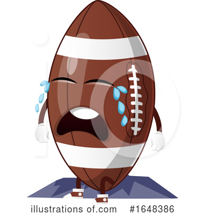 American Football Clipart #1648386 by Morphart Creations