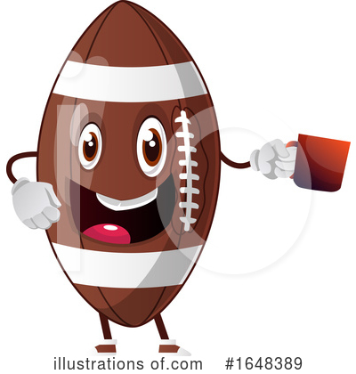 American Football Clipart #1648389 by Morphart Creations