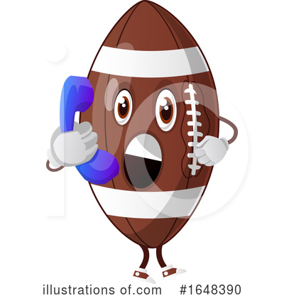 American Football Clipart #1648390 by Morphart Creations