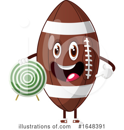 American Football Clipart #1648391 by Morphart Creations