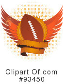 American Football Clipart #93450 by elaineitalia