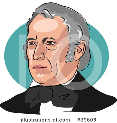 Royalty-Free (RF) American President Clipart Illustration by Prawny - Stock Sample #39608