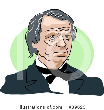 Royalty-Free (RF) American President Clipart Illustration by Prawny - Stock Sample #39623