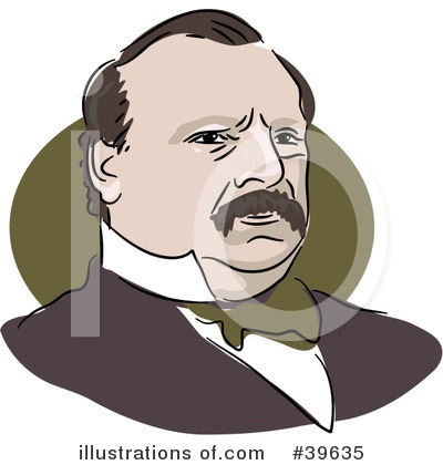 Royalty-Free (RF) American President Clipart Illustration by Prawny - Stock Sample #39635