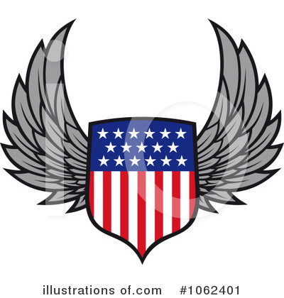 Americana Clipart #1062401 by Vector Tradition SM