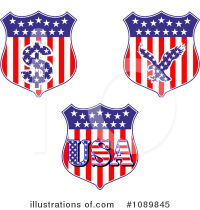 Usa Clipart #1089845 by Vector Tradition SM