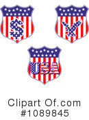 Royalty-Free (RF) americana Clipart Illustration #1089845