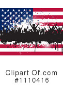 Royalty-Free (RF) Americana Clipart Illustration #1110416
