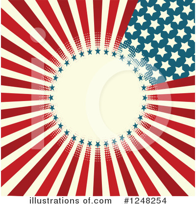 Fourth Of July Clipart #1248254 by Pushkin