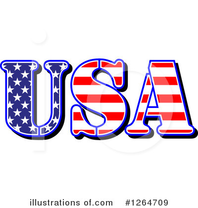 Americana Clipart #1264709 by Vector Tradition SM