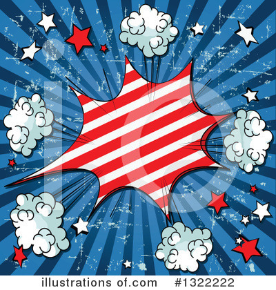 Fourth Of July Clipart #1322222 by Pushkin