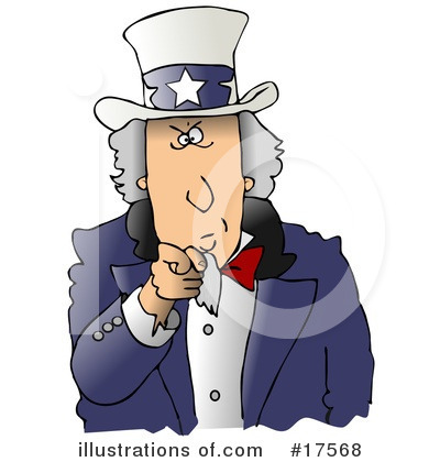 Royalty-Free (RF) Americana Clipart Illustration by Dennis Cox - Stock Sample #17568