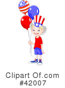 Royalty-Free (RF) Americana Clipart Illustration #42007