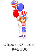 Royalty-Free (RF) Americana Clipart Illustration #42008