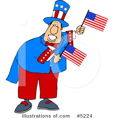 Royalty-Free (RF) Americana Clipart Illustration by djart - Stock Sample #5224