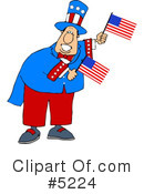 Royalty-Free (RF) Americana Clipart Illustration #5224