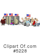 Royalty-Free (RF) Americana Clipart Illustration #5228