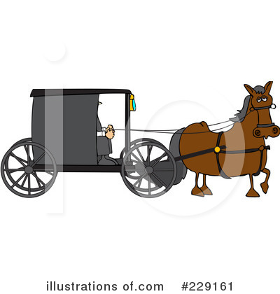 Carriage Clipart #229161 by djart