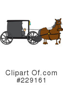 Royalty-Free (RF) Amish Clipart Illustration #229161